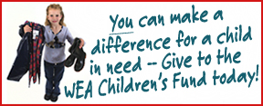 Donate Now to help Washington's kids with the WEA Children's Fund